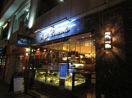 Caffe Concerto : Just across the street from Harrods