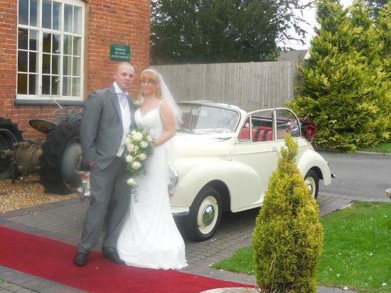 The Barns Hotel: Chris and Sara s wedding