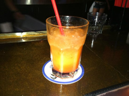 Toby Keith's I Love This Bar & Grill : Bullets in the Gun drink..YUMM