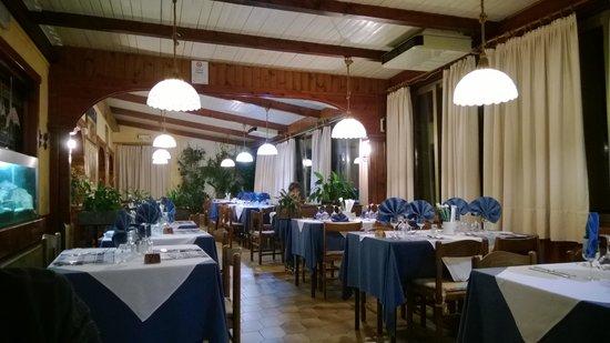 Albergo Campagna: Sala ristorante