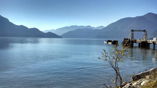 Porteau Cove Provincial Park : I Can See For Miles