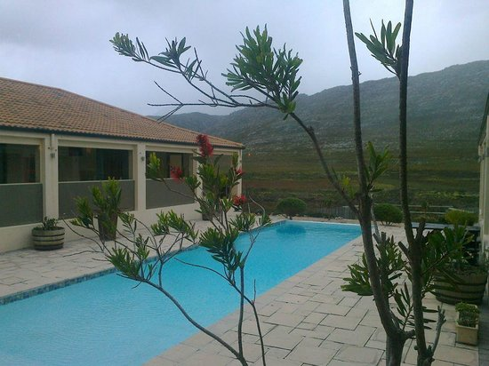 Kapensis Guesthouse : pool area