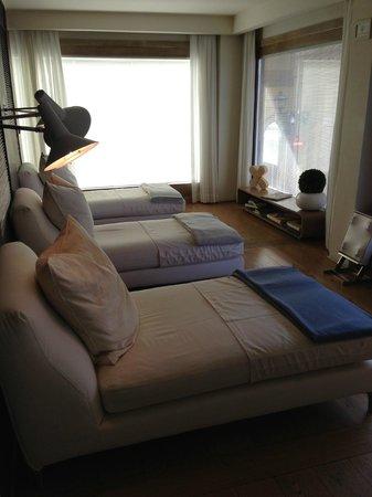 Continentale Firenze: Sala relax