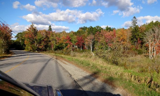 Mainely Meat Barbeque : Pretty scenery on Crooked Rd