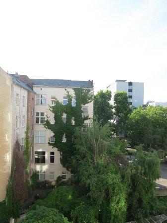 Park Plaza Berlin Kudamm : the view