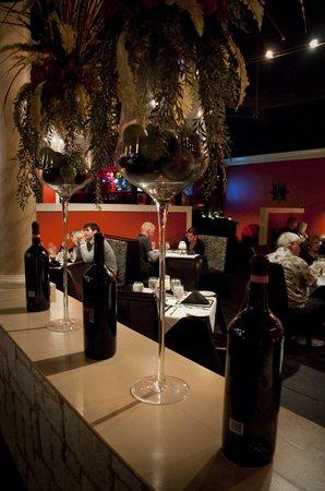 Jahnas Restaurant: From bar view