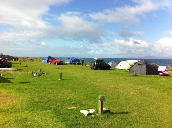 Port Ban Holiday Park: Port Ban campsite