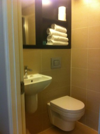 Bloomsbury Palace Hotel: Watch the towels dont fall into the loo !