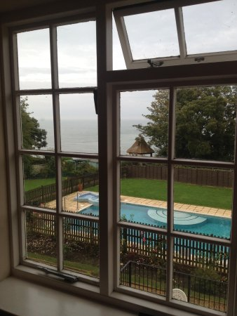 Luccombe Manor Country House Hotel: room with a view