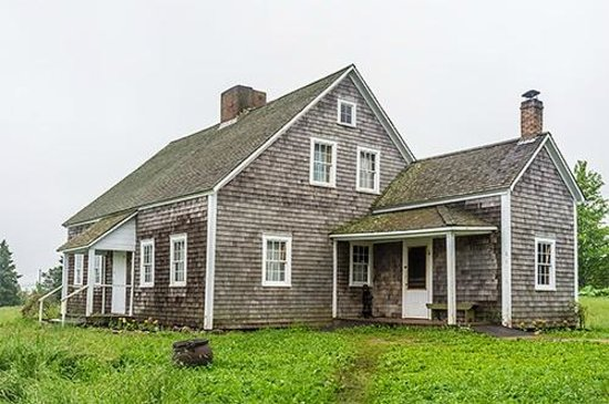 Ross Farm Museum: The estate house