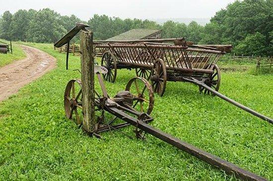 Ross Farm Museum : Farm implements