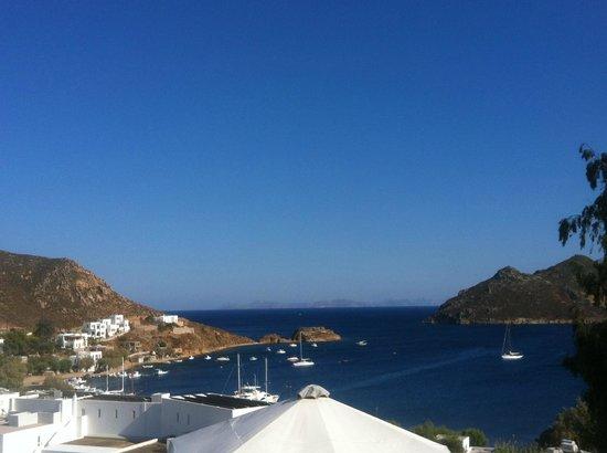 Petra Hotel & Suites: Aussicht aus unserem Zimmer