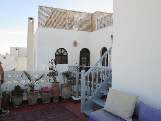 Riad Asmitou : terrasse et solarium
