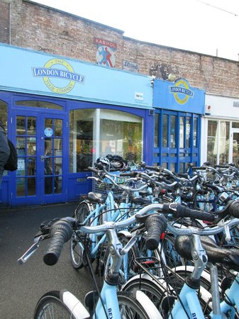 The London Bicycle Tour Company: Bikes