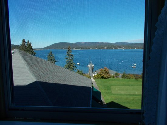 The Claremont Hotel: View from bathroom