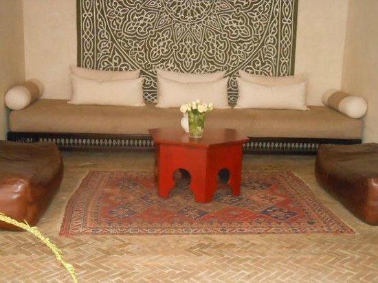 La Villa Blanche : searing area