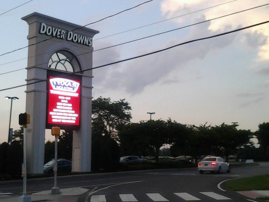 Dover Downs Casino: Casino sign