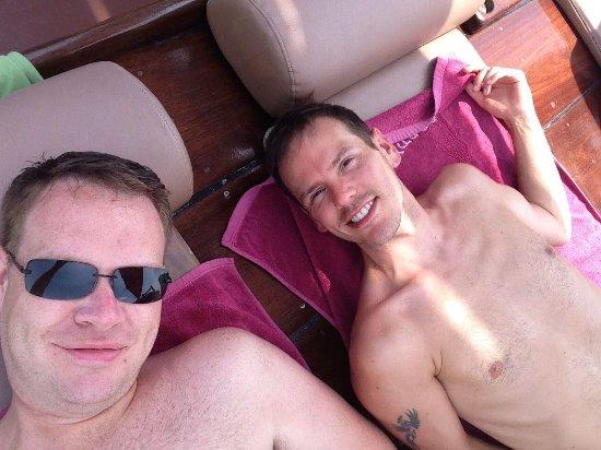 Chantara, Junk Boat : Relaxing!