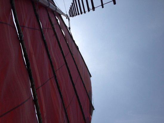 Chantara, Junk Boat : Chantara
