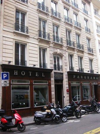 Eurostars Panorama Hotel: Hotel entrance