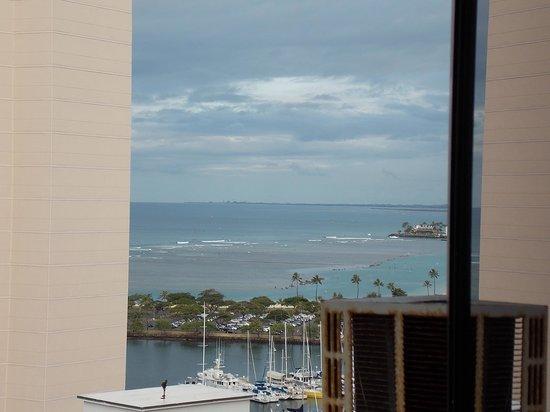 Marina Tower Waikiki : vista del mar