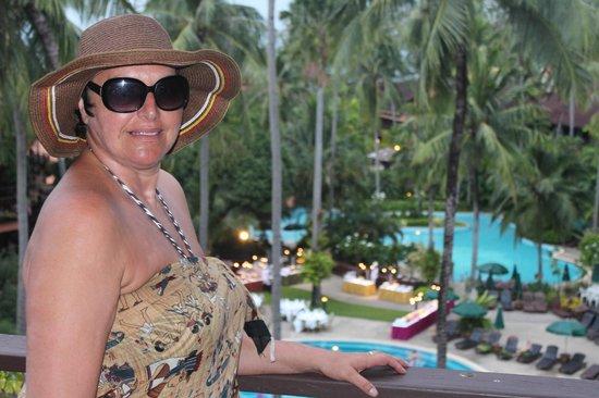Patong Merlin Hotel : Vue de la chambre