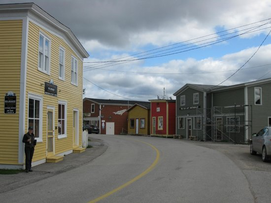 Aunt Jane's Place: Woody Point main street including Aunt Jane's B&B