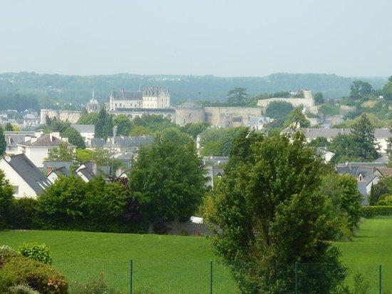 Novotel Amboise: Vista com zoom da janela do quarto