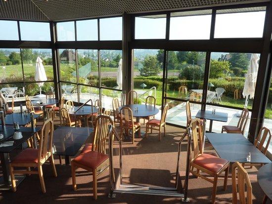 Novotel Amboise: Restaurante onde e servido o café da mnhã