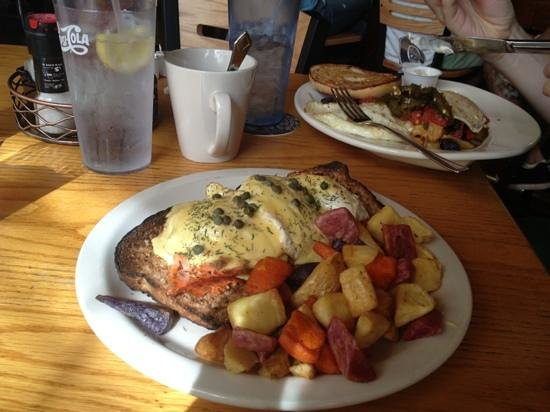 Bullfrog Brewery: brunch at Bullfrog