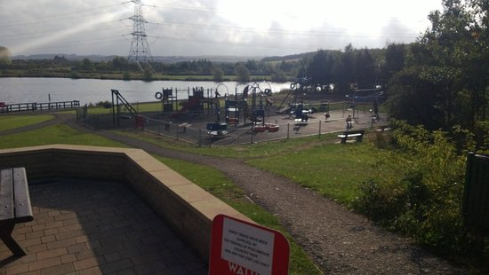 Staveley, UK: View of playarea