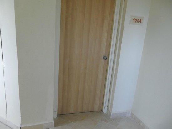 Thalassa Mahdia : porte chambre