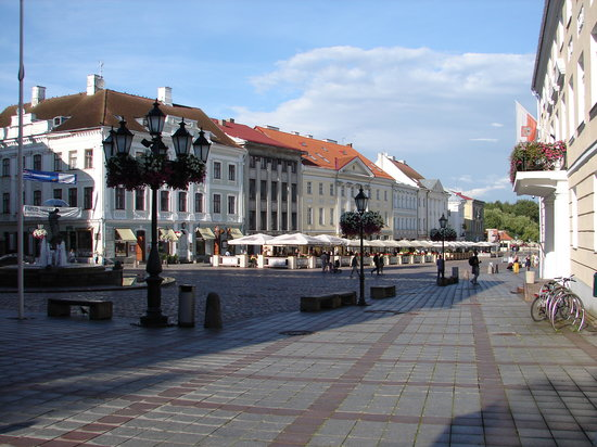 Image result for Tartu town square