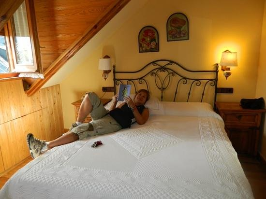 Hotel Ciria: la habitacion