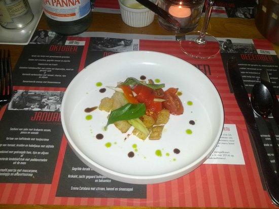 Brasserie Maritime: eine Vorspeise - Oktober 2013