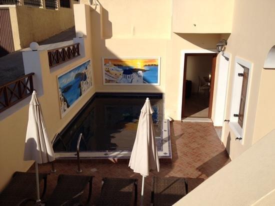 Antonia Hotel Santorini: The lovely pool