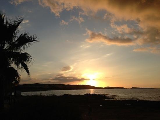 Nereida Aparthotel: wonderful sunset view from the Nereida!
