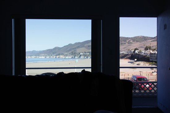Dolphin Cove Motel: Ausblick aus dem Zimmer