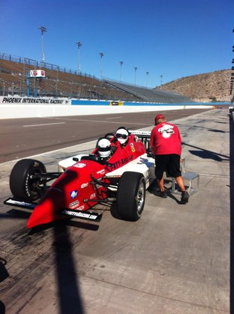 Mario Andretti Racing Experience : Two Seater Old Indy Replica used this experience