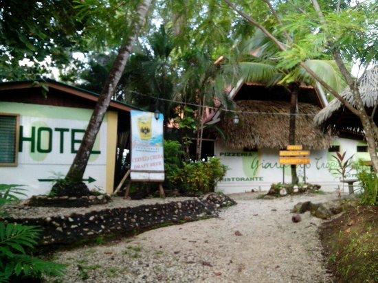 Giardino Tropicale : entrance