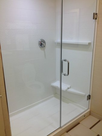 Fairfield Inn & Suites Knoxville West: Shower/no tub