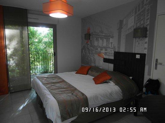 Lagrange City Apart'Hôtel Montpellier : Creative decorative room