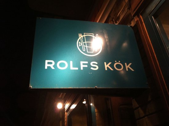 Rolfs Kok : Insegna