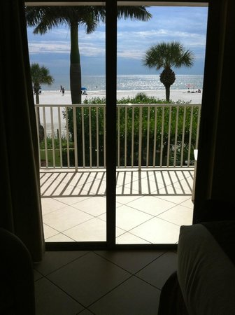 BEST WESTERN PLUS Beach Resort: our room w/ patio view