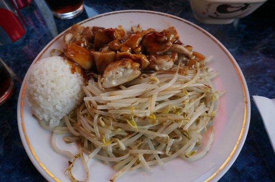 Okonomi House Restaurant : chicken teriyaki
