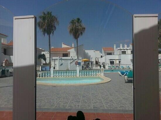 Villa Florida: view from poolside bar