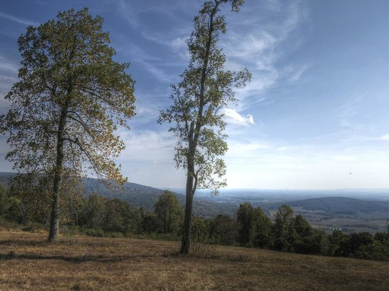 Sky Meadows State Park: View from the top
