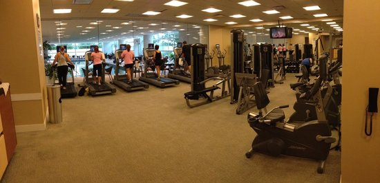 Renaissance Schaumburg Convention Center Hotel: A real fitness center!