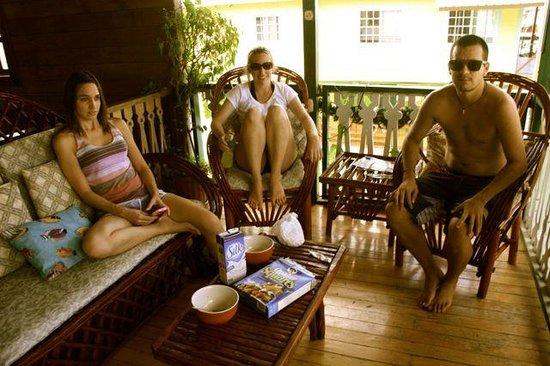Hotel del Parque: Balcony Life