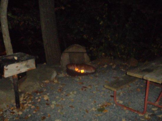 Gettysburg / Battlefield KOA : Fire Pit